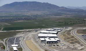 NSA's Utah Data Center in Bluffdale, Utah.