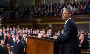 Last year's State of the Union Address took place on Jan. 28.