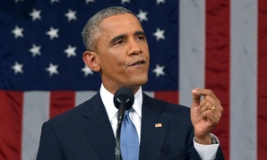 President Barack Obama delivers his State of the Union address to a joint session of Congress on Capitol Hill.
