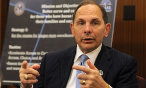 VA chief Bob McDonald announced the reorganization in November.