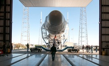 The Falcon 9 AsiaSat is one of SpaceX's vehicles.