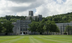 The parade grounds at West Point.
