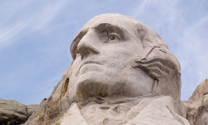 Rushmore is not George Washington's first relationship with being stoned.