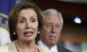 House Minority Leader Nancy Pelosi and House Minority Whip Steny Hoyer.