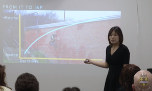 Pittsburgh Chief Innovation and Performance Officer Debra Lam addresses her department on its one-year anniversary.