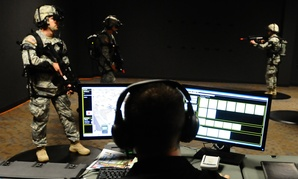 82nd Airborne Division paratroopers conduct a simulated mission