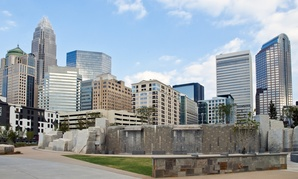 Charlotte's city center is among those outpacing city peripheries.