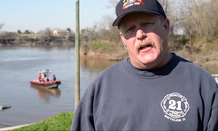 Tom Neville of the Sacramento Metropolitan Fire's swift-water and flood rescue operations.