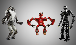 Some of the robots you'll find competing in the DARPA Robotics Grand Challenge this summer.