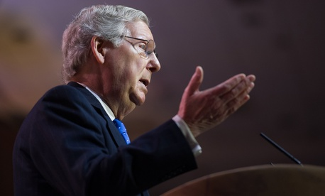 Senate Majority Leader Mitch McConnell is urging governors not to comply with EPA's emissions rules for existing power plants.