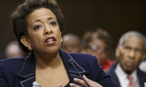 Attorney general nominee Loretta Lynch testifies before the Senate Judiciary Committee in January.