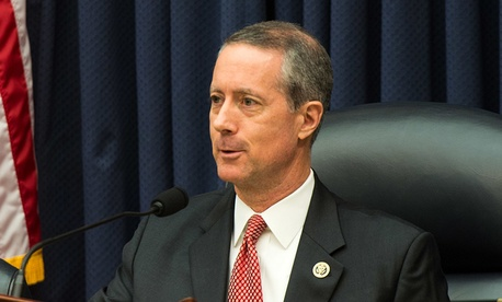 Rep. Mac Thornberry, Chairman of the U.S. House Armed Services Committee provides opening remarks before the start of the House Armed Services Committee Hearing last week.