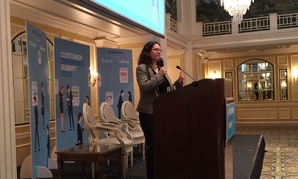 OMB's Lisa Danzig at the Customer Experience Summit.