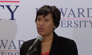 D.C. Mayor Muriel Boswer