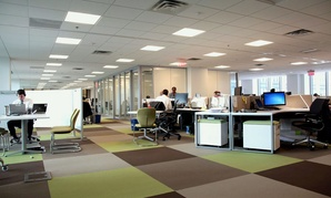 A view of GSA's renovated headquarters.