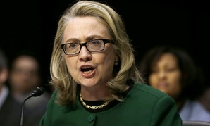 Hillary Clinton testifies on Capitol Hill on the Benghazi attacks.