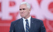 Everyone was taking shots at Indiana Gov. Mike Pence Tuesday.