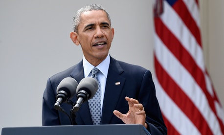 Obama delivered the statement Thursday.