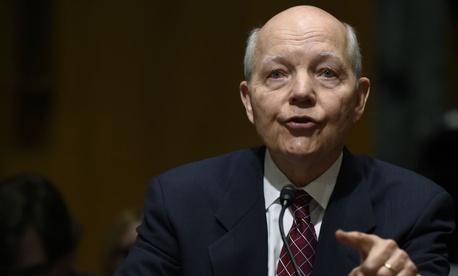IRS chief John Koskinen said cracks are starting to show.