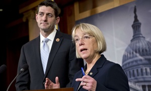 Rep. Paul Ryan, R-Wis., and Sen. Patty Murray, D-Wash., introduced the measure.