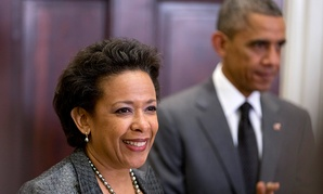 Obama announced Lynch's nomination in November.