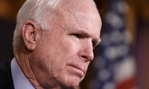 """The proposal was not enough for those on the left and way too much for those of us who believe that the Constitution says the president is the Commander-in-Chief,"" Sen. John McCain, R-Ariz, said."