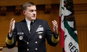 National Security Agency director Mike Rogers speaks at Stanford University in November.