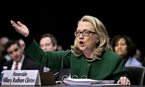 Hillary Clinton testified on the Benghazi attacks in January 2013.