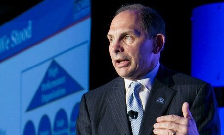 VA Secretary Bob McDonald speaks at the Excellence in Government conference.