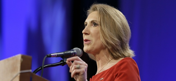Republican presidential hopeful Carly Fiorina