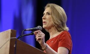 Republican presidential hopeful Carly Fiorina