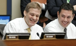 Reps. Jim Jordan (left) and Jason Chaffetz wrote a June 5 letter to the head of the IRS with a dozen questions about the team.