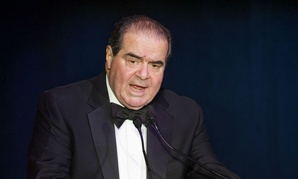 Supreme Court Justice Antonin Scalia speaks in Washington in 2014.