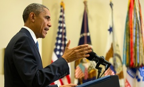 Obama spoke in the Roosevelt Room of the White House Wednesday.