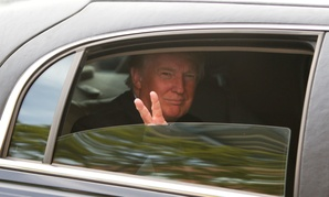 It's probably best to keep on driving, Trump.