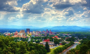 Asheville, North Carolina, won Amazon's City on a Cloud Innovation Challenge last year.