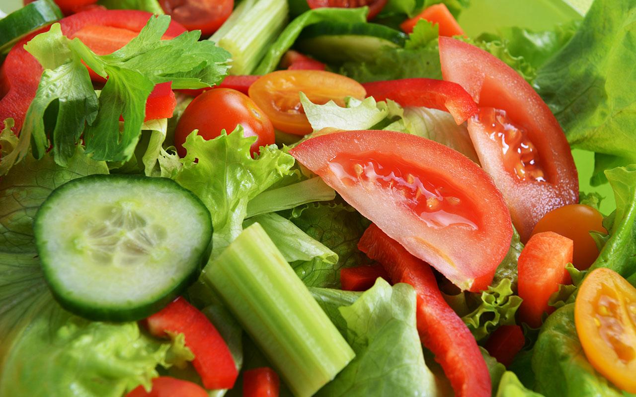 Салаты из свежих овощей рецепты с маслом