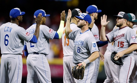 The Kansas City Royals sent eight players to the 2015 All Star Game.