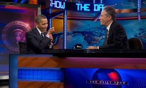 Obama appeared on the show in October 2012.