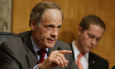 Sen. Tom Carper, D-Del., promised to work with colleagues to ensure agencies have the tools they need to get even more energy efficient.