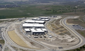 The National Security Agency's Data Center in Bluffdale, Utah.