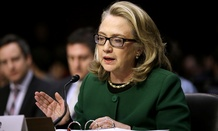 Clinton appeared before the Senate Foreign Relations Committee hearing on the attacks in 2013.