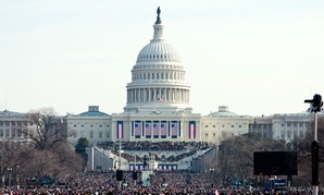 President Obama's inauguration on Jan. 20, 2009. The bill would codify some of the preparations the George W. Bush administration made in 2008 for that transition.