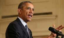 Obama spoke about his Clean Power Plan Monday at the White House.