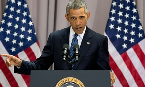 Obama spoke about the deal Wednesday at American University in Washington.