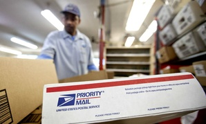 Revenue from shipping and packages continued to be the biggest glimmer of hope for the mailing agency.