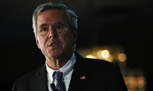 Jeb Bush speaks at a town hall meeting in Columbia, S.C., on Monday.