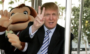 Trump and a friend in 2006.