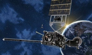 Artist's conception of GOES-R environmental satellite.