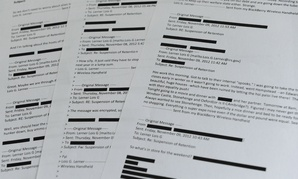 Lois Lerner emails obtained from the House Ways and Means Committee.